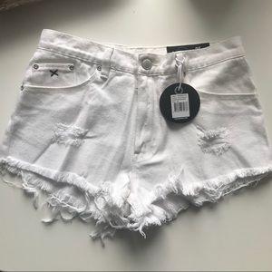 Cutout Whitewalker Shorts